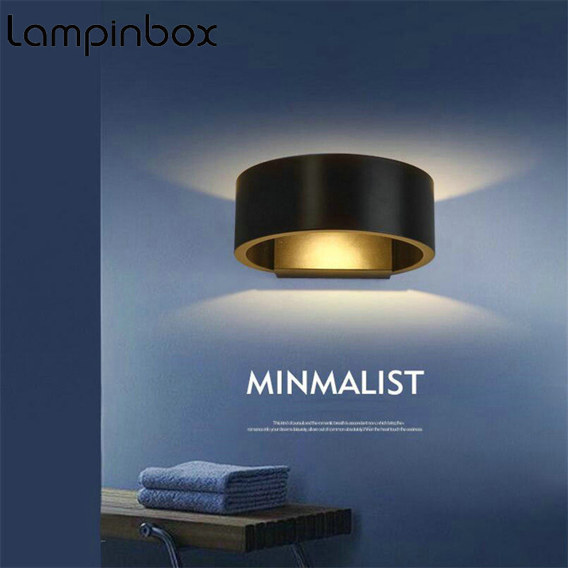 LED Wall Light 5W COB LED Bedside Wall Lamp Headboard Lamp FOR Staircase Living Room Bedroom Aisle Balcony AC85-265V LP-95 ...