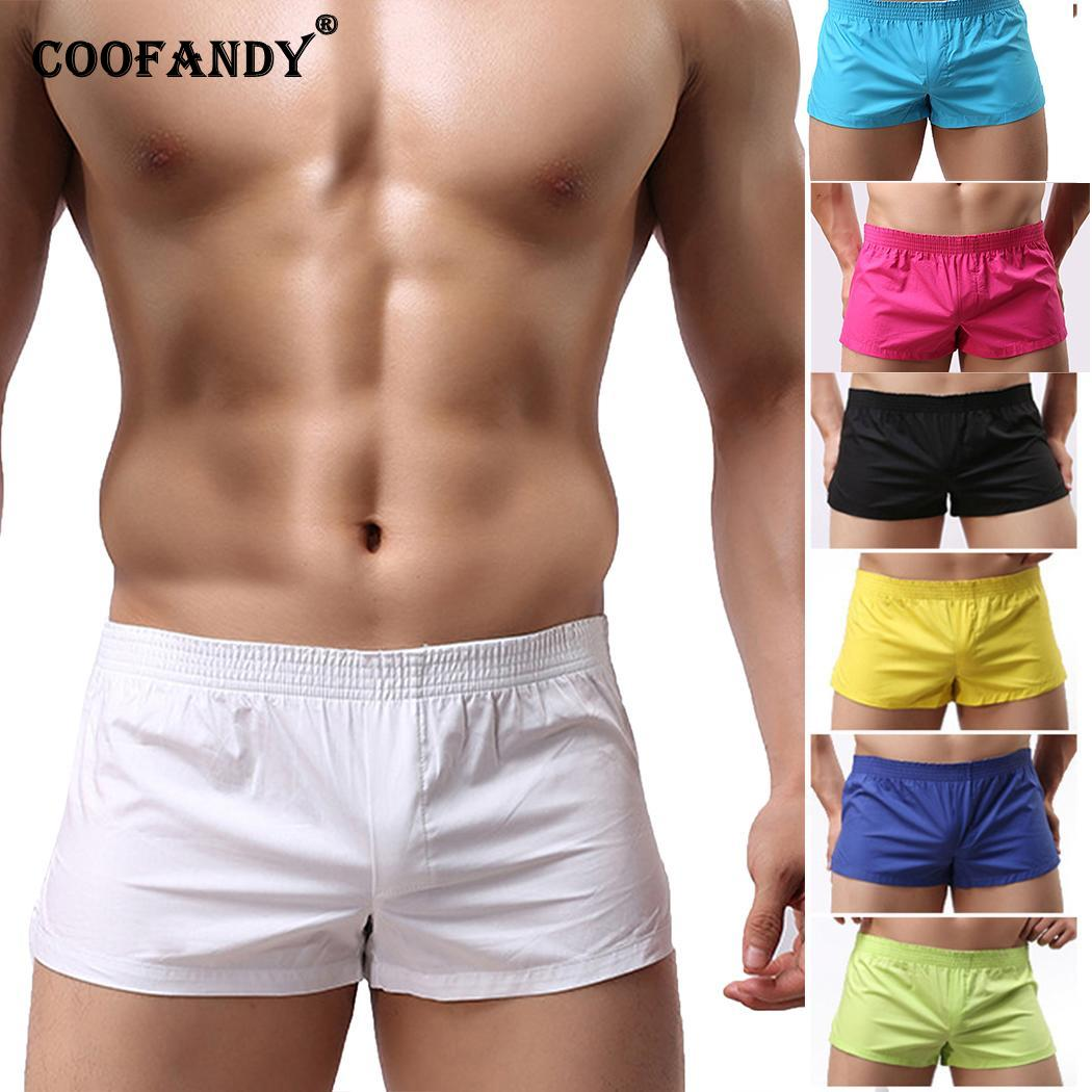 Casual Summer Mens Swimming Trunks Sports Wear Short Beach Pants
