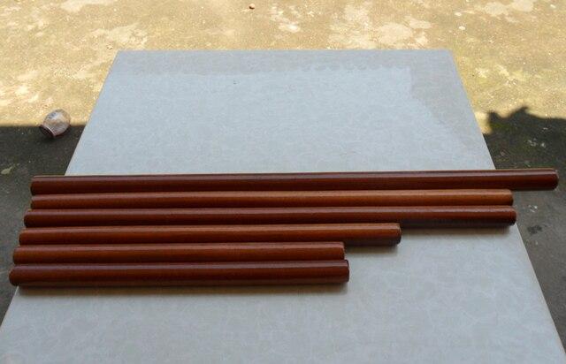 wooden diameter 5cm martial arts stick logs tai ji sticks round wood