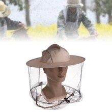 Профессиональная сетчатая шапка с защитой для лица, сохраняющая насекомых, пчелы, летающие, защита для лица, пчеловод, рыболовные инструменты для пчеловодства