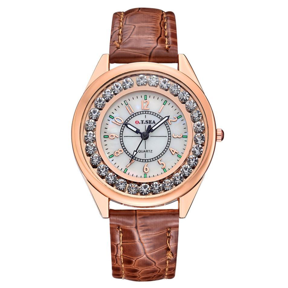 2018 Selling fashion watches Special Gifts Unisex Popular Womens Luxury Diamond Watch Women Fashion Dress Quartz Wrist Watches