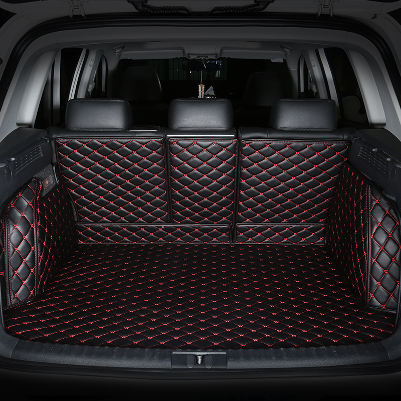 All Surrounded Durable Special Car trunk Mats For Renault Duster Fluence Kangoo Koleos Magane Scenic Kadja 3D Waterproof Carpets