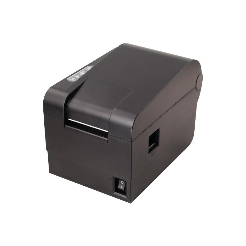 High Quality High Speed USB Port Barcode Printer Sticker Printer Print Width 20-60 Mm