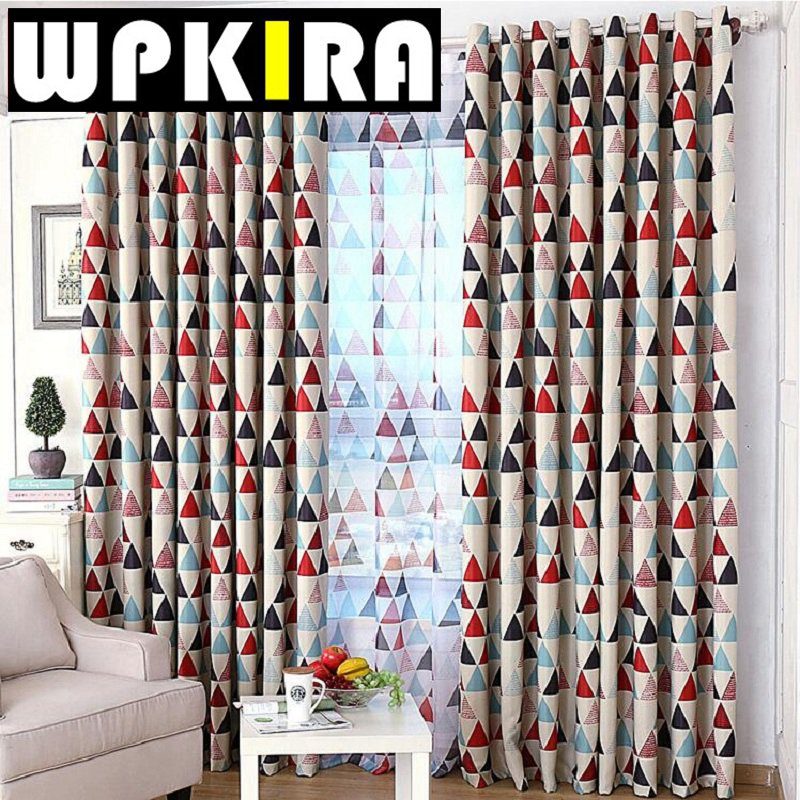 Red Patterned Curtains Living Room Curtain Menzilperde Net