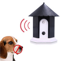 Ultrasonic Anti Barking Repeller Dog Outdoor Bark Control Trainer Pet Dog Barking Stop Training Equiment Supplies For Dogs
