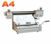 320X235mm Perfect Binding Machine Dust free Spine Roughening Unit Book Binder
