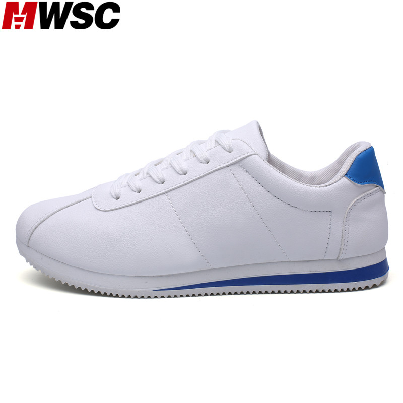 Mwsc nueva llegada de los hombres de moda casual zapatos masculinos luz transpir