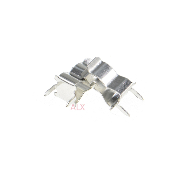 50PCS Plug In Clip Clamp fuse holder for 5 x 20mm Electronic Fuse Tube 5x20MM 5*20MM 5X20