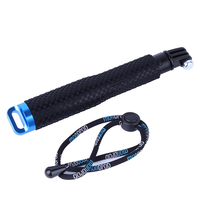 20 To 49cm Telescopic Handheld Selfie Stick Pole Mount For GoPro Hero 3 4 For Xiaomi