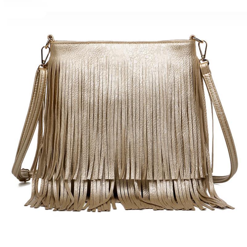 LADIES WOMEN/'S FASHION TASSEL CROSS BODY NEW BAG SHOULDER BAG UK SELLER