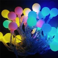 YIYANG Fairy 20m 200 LED Luminaria Decoration Garland Globe Ball String Lights Christmas Holiday Party Wedding
