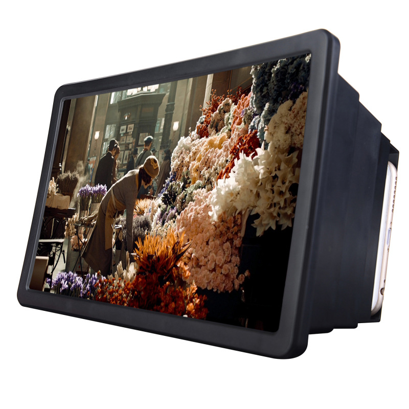 HTB1ed9QPpXXXXXeapXXq6xXFXXXg - Mobile Phone Video Screen Magnifier Amplifier Expander Stand Holder for 3D Movie Display PTC 149