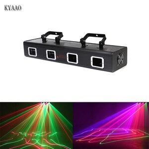 Image 1 - 3D scanner auto disco aluminm bühne laser licht club muster LED led bar dmx wirkung laser lichter dj professinaol projetcor
