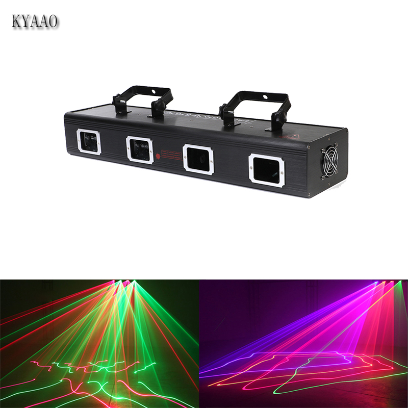 3D scanner car disco aluminm stage laser light club pattern LED led bar dmx effect laser lights dj professinaol projetcor