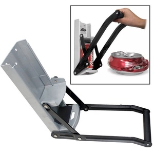 Image 5 - Bottle Opener Beer Tin Can Crusher With Grip Handle Wall Mounted Recycling Tool Environmentally Friendly Coke Bottle Flattening