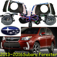 Forester Daytime Light 2013 2016 Chrome LED Free Ship Forester Fog Lamp Tribeca Baja Brz Impreza