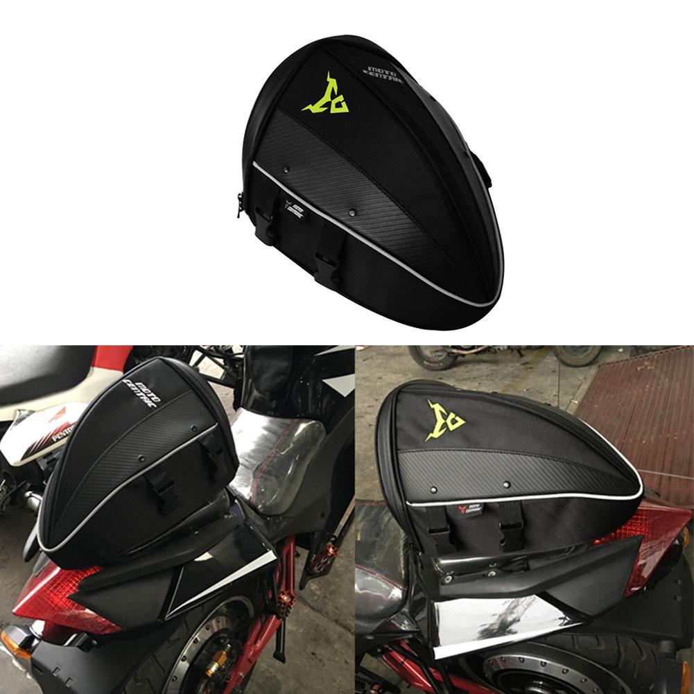 Waterproof Motorcycle Rear Back Seat Bag Tail Bag Motorcycle Storage Bag Oxford Top Case Shoulder