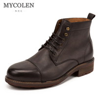MYCOLEN 2018 Winter Warm Male Boots For Men Casual Shoes Work Adult Quality Walking Rubber Brand Safety Footwear Sneakers