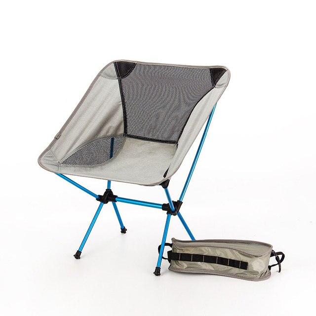 Assento portátil cadeira de pesca leve cinza acampamento fezes dobrável mobiliário ao ar livre jardim novo al portátil cadeiras ultra leves