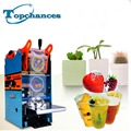 High Quality Electric Automatic Tea Cup Sealer Sealing Machine Bubble 300 Cups/hr 270W 220V