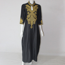 2016 Dashiki	African Cotton Dresses For Women Top Bazin African Traditional Private Custom Clothes dashiki one piece
