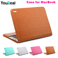 Fashion Leather Sleeve Case For Macbook Air11 Air13 Retina12 Retina13 Retina15 inch Cover Bag For Laptop for Mac Laptop Cases