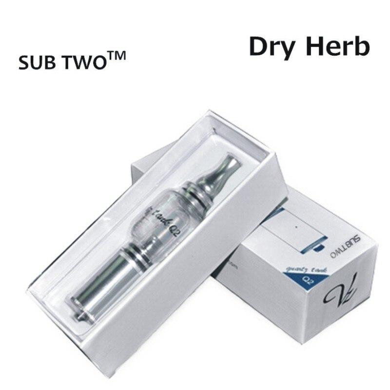 Vendita calda Serbatoio Q2 tubo di acqua Cigerette Elettronico erba secca vaporizzatore pyrex acqua di vetro atomizzatore Q2 dell'acqua nel gorgogliatore vetro pyrex kit