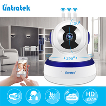 lintratek Surveillance Camera HD 1080P 2.0MP mini CCTV Wifi IP Camera Cloud Storage Three Antenna Home Security PTZ Camera IPcam