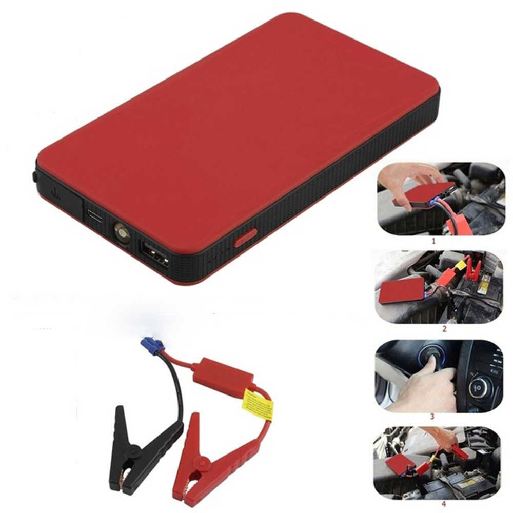 12V 8000mAh Multi-Function Car Battery Jump Starter Engine Emergency Battery Charger Power Bank Booster Battery