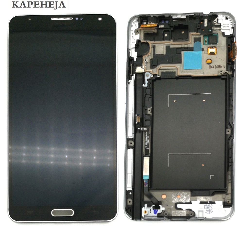 Super AMOLED LCD Display For Samsung Galaxy Note 3 N900 N9005 N900A N900V LCD Display Touch Screen Digitizer AssemblySuper AMOLED LCD Display For Samsung Galaxy Note 3 N900 N9005 N900A N900V LCD Display Touch Screen Digitizer Assembly