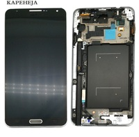 Super amoled LCD wyświetlacz do Samsung Galaxy Note 3 N900 N9005 N900A N900V wyświetlacz LCD montaż digitizera ekranu dotykowego w Ekrany LCD do tel. komórkowych od Telefony komórkowe i telekomunikacja na