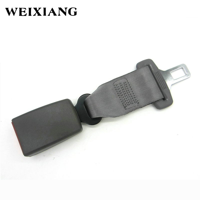 E24 Safety Certified 23cm Car Seat Belt Safety Extension Seatbelt Extenders Auto Belts Longer For Child Seats - Gray Type A