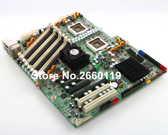 For XW6600 440307-001 439240-001 server motherboard, fully tested original server motherboard for ml350 g4 365062 001 well tested working