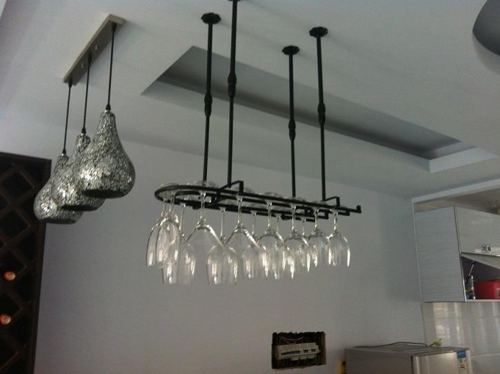 60 25cm fashion bar red wine goblet glass hanger holder. Black Bedroom Furniture Sets. Home Design Ideas