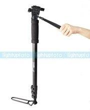 Weifeng WT-1005 Camera Monopod with 3-way Head Bag PTT8