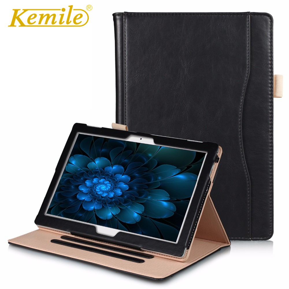 Kemile Slim Smart Leather Case For Lenovo Tab 4 10 TB-X304L TB-X304F/N Tab 4 10 Plus TB-X704L TB-X704F/N Cover Tablet Case