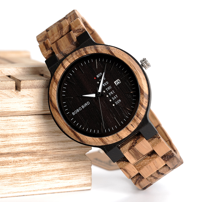 O26-BOBO BIRD Fashion Wooden Calendar watch (16)