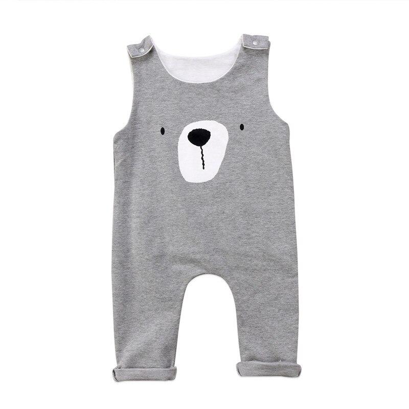 d257ffd5a Newborn Winter Spring Rompers 2018 Cute Toddler Baby Girl Boy Bear ...