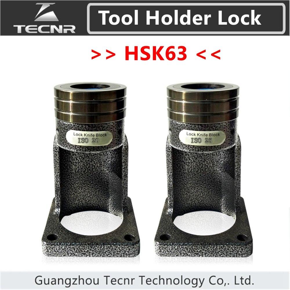 HSK63 tool holder Bearing lock knife seat block Locking device ball lock cutter