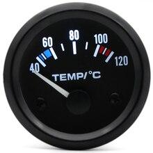 """Датчик дракона """" 52 мм Датчик температуры воды для автомобиля 40~ 120 градусов Цельсия Температура 12 В автоматический инструмент черный ободок"""