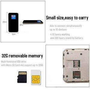 Image 3 - FDD LTE GSM 4G WiFi Router แบบพกพา Global ปลดล็อค Dongle โมเด็มไร้สายซิมการ์ดสล็อต 8800 MAH