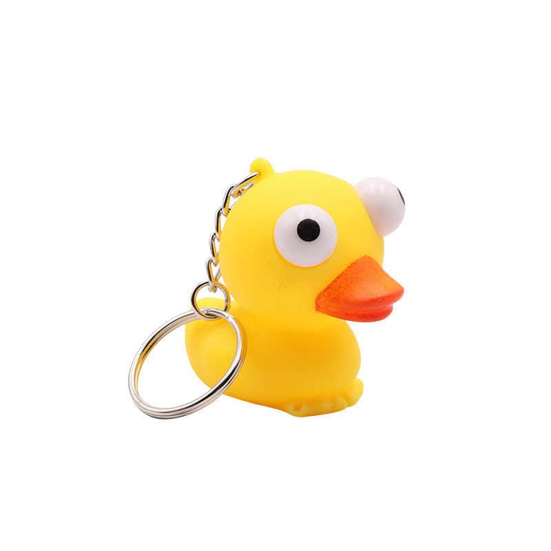 Animal de pelúcia Brinquedo Keychain Bonito Sapo Pato Moda Chaveiro Mini Chave Jóias Animal Bonito Brinquedo das Crianças Presente 2019 NOVA