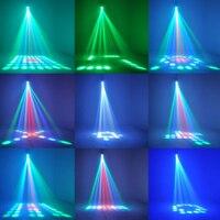 High Quality Sound Active 64 LEDs RGBW Light Disco Light Club Party Show Hundreds Of Patterns