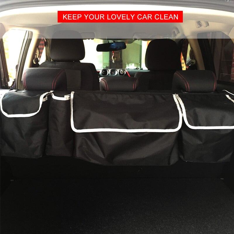 Car Trunk Storage >> Car Trunk Organizer Bag Suv Trunk Storage Box Folding Back Seat Bags