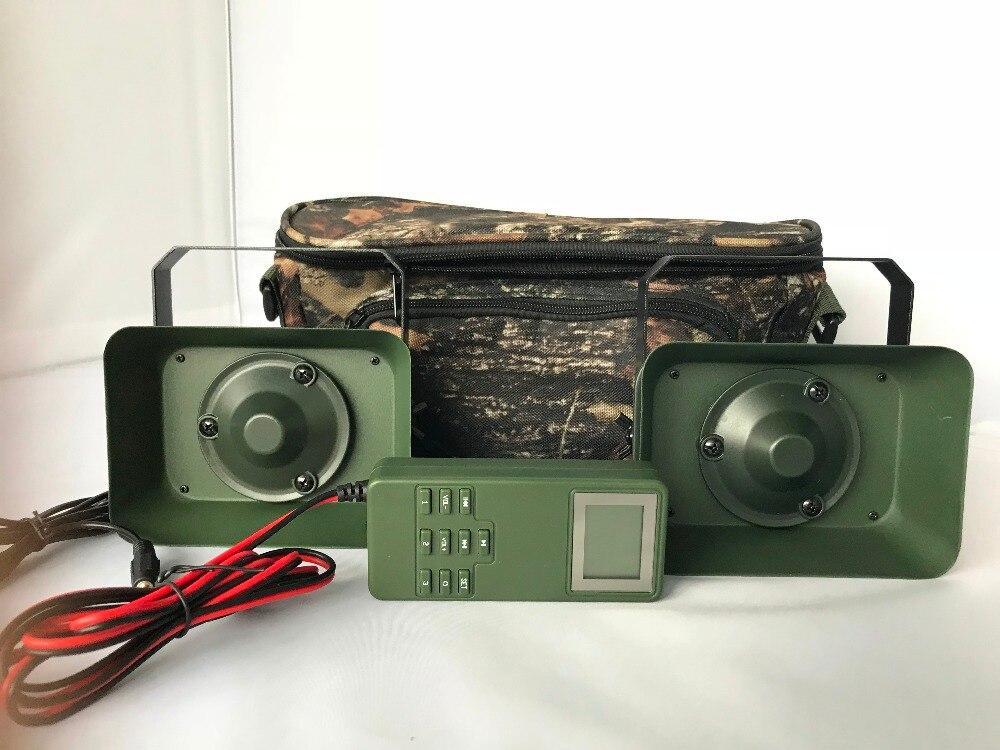 PDDHKK Hunting Decoys Bird Caller With TWO 60W 160dB Loud speakers metal material and waterproof Mp3 Bird Sound Loudspeaker