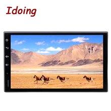 Idoing 2Din 7 дюймов Android8.0/7,1 автомобильный мультимедийный плеер руль для Nissan Универсальный 8 Core быстрая загрузка 2G RAM 32G ROM без DVD
