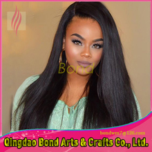 Unprocessed 8A Virgin Brazilian Full Lace Human Hair Wigs For Black Women With Baby Hair Human Hair Straight Lace Front Wigs