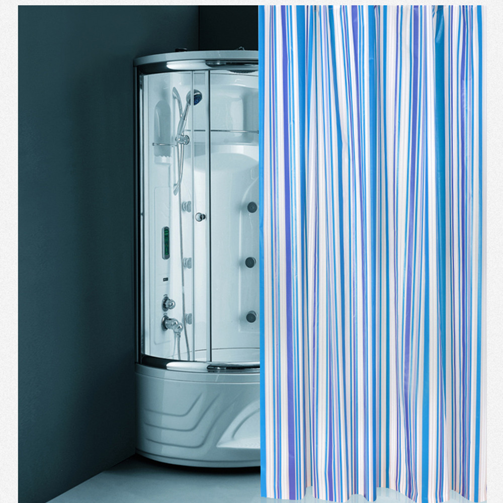 compare prices on colorful shower curtains online shopping buy free shipping bathroom appliances bath shower curtains 180cm 180cm water proof peva shower curtain blue