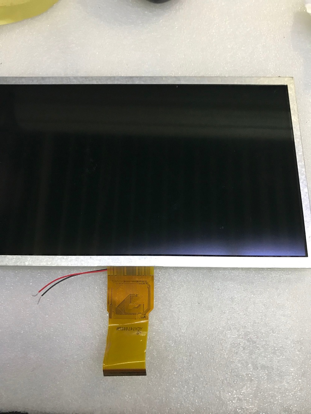 original new 10.1 inch LCD screen cable number: A1012850FPCF-1 free shipping original 7 inch lcd screen cable number tkr7030b a 30ppin width 105cm 165cm