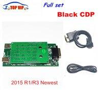 With Bluetooth 10 Pcs Lot Newest Diagnostic Tool Black TCS CDP 2014 R2 Keygen R3 DS150E